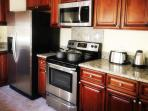 kitchen,stainless appliances just like your own home
