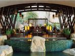 Resort lobby that welcomes you with the best service