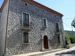 DIMORA VILLA RITA Villa con pietra con piscina