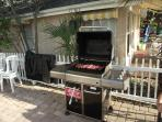 What's cooking? The grill is available for all our guests