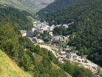 Village of Bareges Overview