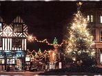 Stratford upon Avon has outstanding Christmas Decorations