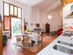 Loft con patio e Florentin charm