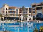 The 5* Intercontinental Hotel at Mar Menor's Centre.