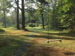swinging always makes me happy :)