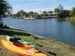 Enjoy awesome views by shipping with our kayaks along the canals