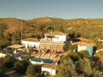 An amazing ariel view of our beautiful group villa