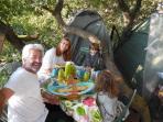Merci à Cuqui et sa famille pour leur visite du 27/08/15