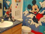 Family Bathroom - Disney Theme