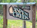 Aspen Creek #215 - Aspen Creek Welcome Sign