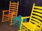 Patio with Rockers