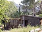 la cabane de la leque, en pleine nature.Calme et confort dans un environnement préservé.