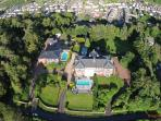 Northcliff Manor and surrounding Aerial View