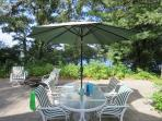 Outside dining with a view! - 21 Beechwood Road Centerville Cape Cod New England Vacation Rentals
