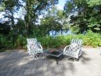 Sit by the fire pit in the evening and sip your favorite libation as the sun sets over the lake - 21 Beechwood Road...