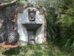 garden lava fountain