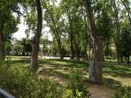 Gardens in Tomar.