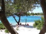 Beach restauran Duga, distance 2 km