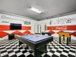 American Diner Theme Games Room