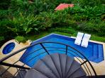 Jacuzzi, Pool From Above