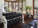 Gym at Villa Arika
