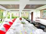Sanur Residence - Villa 1 Communal dining area