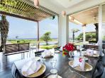 Sanur Residence - Villa 3 - Dining & terrace