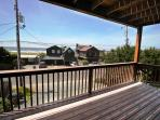Ocean facing wrap around deck with spectacular ocean and Neahkahnie Mountain views and gas BBQ.