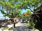 great restaurants along the beach with only a short stroll from the villa