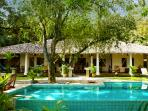 The main villa - sleeps 9 guests