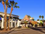 St. Armands with over 100 shops and restaurants