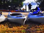 Lido Key is home to the most popular spot to kayak and SUP