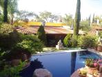 View of Casita and pool