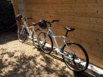 A couple of newish hybrid bikes to explore the flattish area around here
