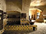 Cocina del Ex convento de Sta Rosa