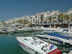 Marina Puerto Banus boats