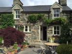 Originally 3 small cottages, Llys Cadwen has  been tastefully renovated into a single home