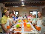 Tuscan Cooking Class...Amazing!