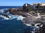 Garachico coast line and natural pools only 20 minutes from our house.