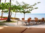 The Anandita - Beachside dining