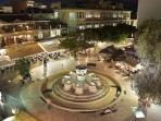 View of four lions fountain within 1 minute walking distance from the apartment