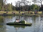 Parque Sarmiento, a 1 cuadra