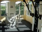 Fitness facility (Reef Residences) located at our other property (adjacent) guests can use.