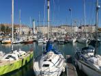 La Rochelle,Vieux Port- 10 mins drive