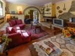 soggiorno#caminetto#holiday special#relax#silenzio#divano lungo#televisione wi fi#adsl