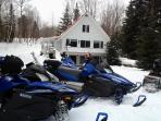 winter fun at the cottage-its winterized, come any season!