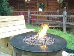 A new firepit is perfect for roasting marshmellows under the stars