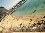 Playa del Escanu a 5 minutos caminando
