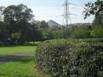 Arthur's Seat from Rosefield park