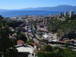 View of Rijeka from Trsat